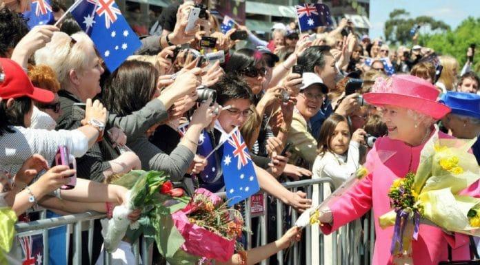 queen australia living in the past