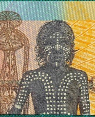 aboriginal 10 dollar australian note 1988 polymer bicentennial