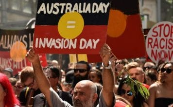 australia day protest invasion day 2019