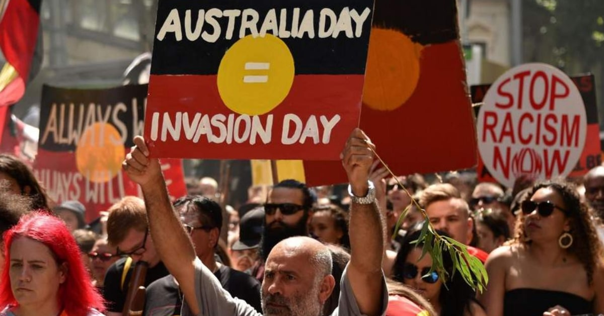 australia day protest invasion day 2019