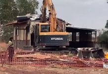 aboriginal housing demolished newman western australia Parnparjinya
