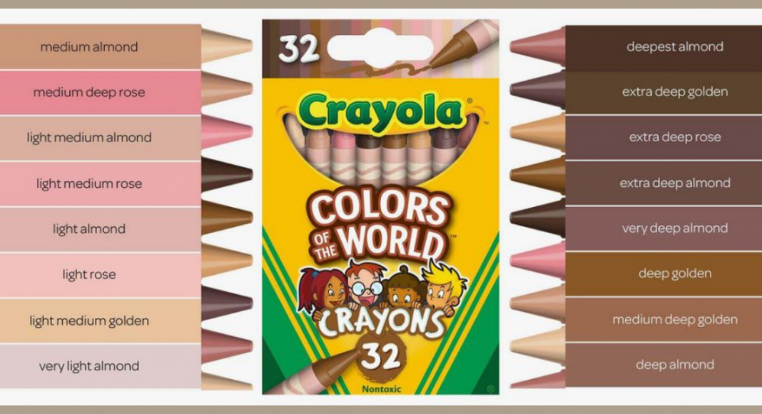 crayola colours of the world crayons